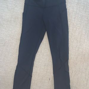 Lululemon black athletic leggings